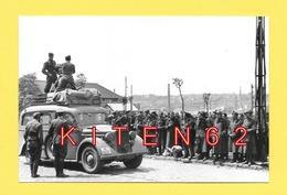 Boulogne-sur-Mer. 4 Clichés De La Guerre 1939-45.  2 Ave De Paris, 1 Porte Des Dunes, 1 Bd Daunou. Reproductions. - Guerre, Militaire