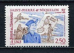 SPM MIQUELON 1992 N° 570 ** Neuf MNH Superbe C 1.40 € Le Baron De L' Espérance Marine Compagnies Franches - Neufs