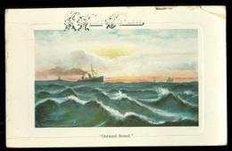 HANDGESCHREVEN BRIEFKAART Uit 1909 Van SHEFFIELD Naar HEEG (outward Bound)  (11.551k) - 1902-1951 (Koningen)