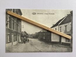 GENAPPE«ROUTE PROVINCIALE «Panorama,animée,attelage,commerce (Rééditée Par Le Çercle- Culturel Les Amis De Bousval 1981) - Genappe