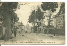 10 - VILLENAUXE LA GRANDE / RUE DE LA GARE - ENTREE DE LA VILLE - France