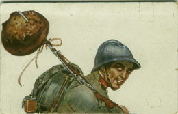 CODOGNATO SIGNED POSTCARD 1910s - SOLDIER & BREAD - EDIT ARS NOVA 375-5 (BG285) - Illustrators & Photographers