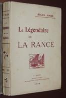 BRETAGNE LE LEGENDAIRE DE LA RANCE JULES HAIZE  RARE E.O. SUR GRAND PAPIER 1914 - Libros, Revistas, Cómics