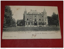JURBISE  -  Château  Du  Moustier  -  1906   - - Jurbise