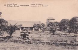 Entier  Postal Stationery - Congo Belge / Belgisch-Congo - Ponthierville - Intérieur De La Station - N° 54 - Matadi 1916 - Entiers Postaux