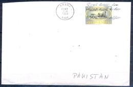 K642- Postal Used Cover. Posted From Slovenija Slovenia To Pakistan. Railway. - Slovenia