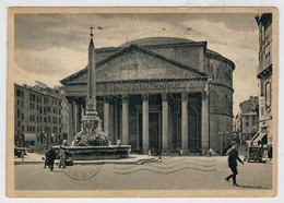 ROMA   IL  PANTHEON                (VIAGGIATA) - Panthéon