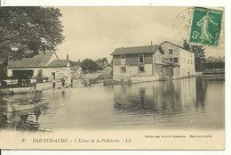 10 - BAR SUR AUBE / L'USINE DE LA PELLETERIE - Bar-sur-Aube