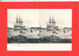 PORTSMOUTH Cpa Stéréoscopique Voilier Le Port   6 LL - Portsmouth