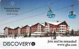BULGARIA KEY HOTEL Kempinski Hotel Grand Arena - AUDI - Cartes D'hotel