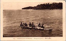 OCEANIE - VANATU - NOUVELLES HEBRIDES --  Pirogue De Guerre - Vanuatu