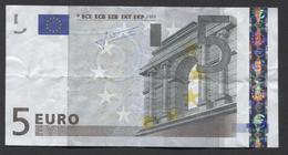 Vijf Euro  L 10093358984 - E010F3 ,  - See The 2 Scans For Condition.(Originalscan ) - EURO