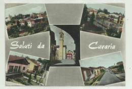 SALUTI DA CAVARIA  - VEDUTE - VIAGGIATA   FG - Varese