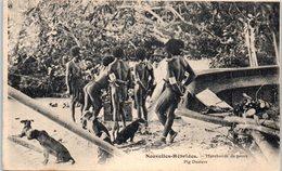 OCEANIE - VANATU - NOUVELLES HEBRIDES - Marchants De Porcs - Vanuatu