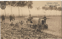 CITROEN TRACTEUR A CHENILLE LABOURAGE EN BEAUCE - Cartes Postales