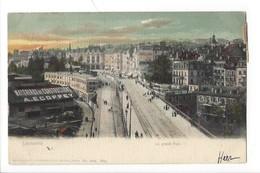 22999 - Lausanne Le Grand Pont  Carte Taxée Et Pub Matériaux Constructions Ecoffey - VS Valais