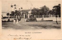 CPA La Réunion Saint Denis Le Gouvernement - Reunion