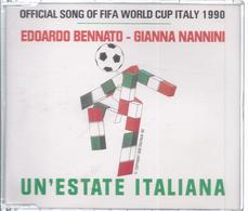 CD- 33 - Official Song Of FIfa World Cup Italy 1990 - Un`Estate Italiana  - Siehe Scan - Music & Instruments