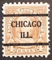 USA – Scott #585 – Pecancel Chicago, Illinois (1925, Perf 10) - United States