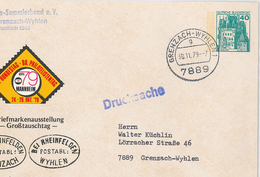 Grenzach Wyhlen Burg Eltz Ganzsache Drucksache 7889 - Storia Postale
