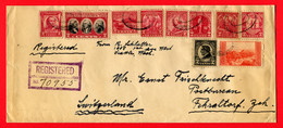 USA,  1936, New York    To   Fehraltdorf, Switzerland - Etats-Unis