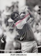 SPORTS GOLF- FUZZY ZOELLER USA - ETATS UNIS-  RARE PHOTO ORIGINALE  H. SZWARC PARIS 1987 - Deportes
