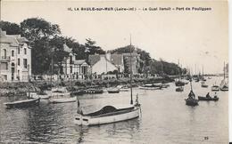 Carte Postale Ancienne De La Baule Sur Mer Le Quai Benoit Port Du Pouliguen - La Baule-Escoublac