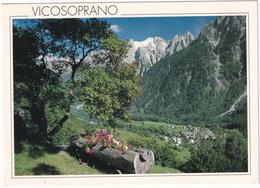 Vicosoprano, 1192 M ü. M. - Bergell, Schweiz - Bregaglia, Svizzera   - (TI) - TI Ticino
