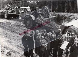 87- LIMOGES- TRAVAUX TERRASSEMENT AUTOROUTE - RARE PHOTO ORIGINALE CLAUDE LACAN - Lugares