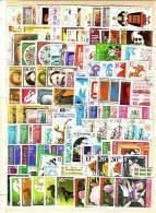 100 Timbres Commémoratifs Tous Différents – Oblitérés /used (O) Bulgarie / Bulgaria - Stamps