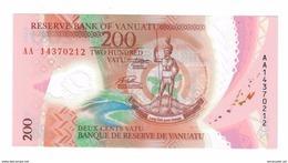 Vanuatu 200 Vatu 2016 UNC AA S/N - Vanuatu