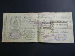 2.3) CAMBIALE 1929 GENOVA BANCO SICILIA CREDITO REGIONALE LIGURE - Cambiali