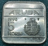 Aruba 5 Florin, 1996 -4542 - Monete