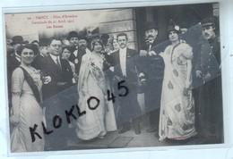 54 NANCY ( M Et M ) Fêtes D' Aviation - Cavalcade Du 21 Avril 1912 - Les Reines - Gros Plan - CPA Maison Des Magasins 20 - Nancy