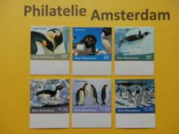 Ross Dep. 2001, FAUNA BIRDS OISEAUX VOGELS VÖGEL: Mi 72-77, ** - Pingueinos