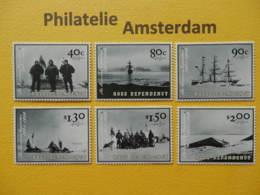 Ross Dep. 2002, FAUNA EXPEDITION SHIPS: Mi 78-83, ** - Antarctische Expedities