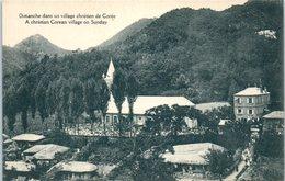 ASIE - COREE -- Dimanche Dans Un Village Chrétien - Korea, South
