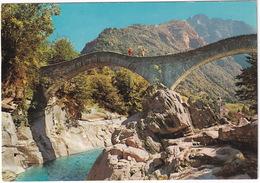 Ponte Romanico In Valle Verzasca (Lavertezzo)  - (TI) - TI Ticino