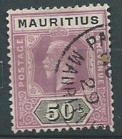 Maurice   - Yvert N°  176 Oblitéré  -  Bce 18812 - Mauritius (...-1967)