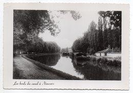 NEMOURS--Les Bords Du Canal  (péniches)  ..pas Très Courante.......à Saisir - Nemours