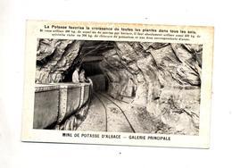 Carte Mine De Potasse - Frankrijk