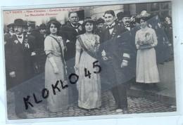 54 NANCY ( M Et M ) Fêtes D' Aviation - Cavalcade Du 21 Avril 1912 - Les Demoiselles D'honneur - CPA Maison Magasins 14 - Nancy