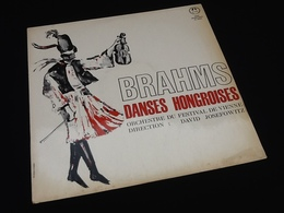 Vinyle 33 Tours  Brahms  Danses Hongroises  Orchestre Du Festival De Vienne Direction :  David Josefowitz - Classique