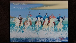 CPM CHEVAL CHEVAUX CAMARGUE GARDIANS ? TOUJOURS PLUS LOIN    CHARLES CAMBIER DESSIN ED JACK - Pferde
