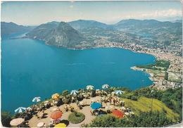 Lugano - Veduta Dalla Vetta Del Bré - (TI) - TI Ticino