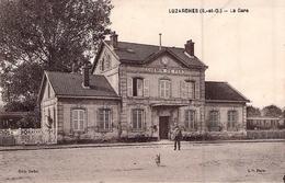 C P A 95] Val D'Oise > Luzarches La Gare De Chemin De Fer    1931 Circulée - Luzarches