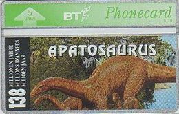 UK Bto 49 Dinosaur Series (2) Apatosaurus - 327C - Ver. Königreich