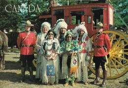 Canada Mounties & Indians (2 Scans) - Canada