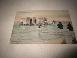 Cpa Carte Postale Ancienne Malo Les Bains L'heure Du Bain - France