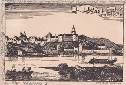 Germany Lebus Very Old Postcard - Briefe U. Dokumente